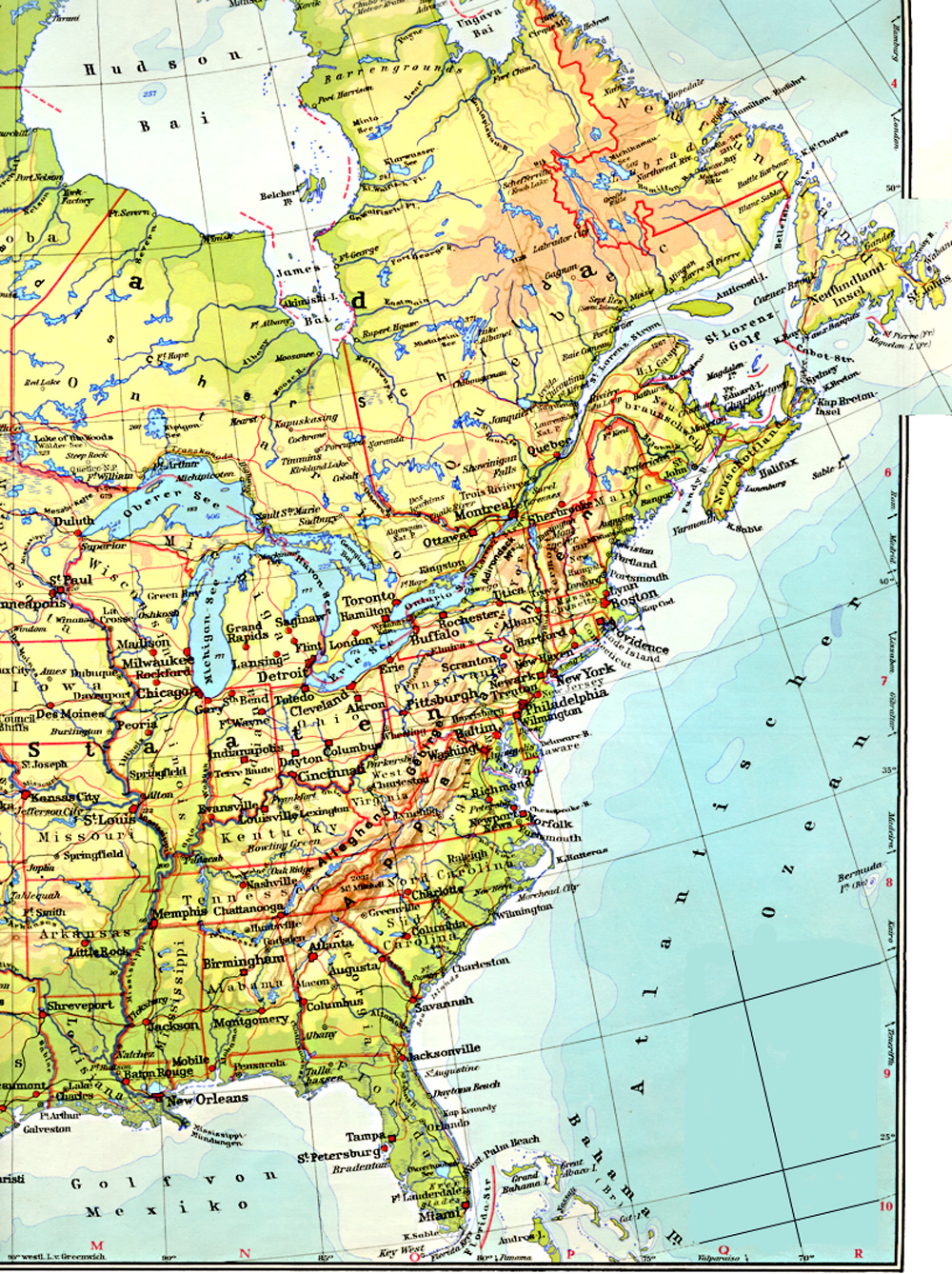 Download Free US Maps Google Earth Library South American Cities - Eastern us airports map